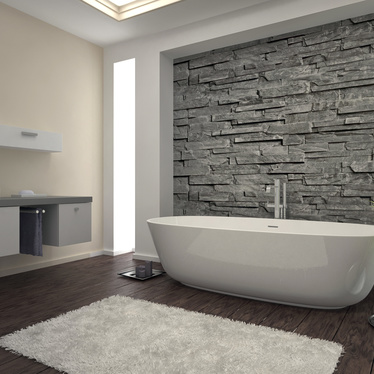 Votre salle de bain avec douche et baignoire