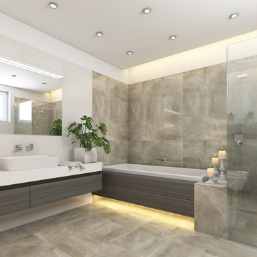 Un carrelage de qualité pour votre salle de bain design et fonctionnelle