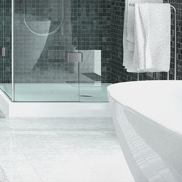 Un carrelage de qualité pour le sol votre salle de bain design et fonctionnelle
